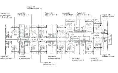 38th floor schedule